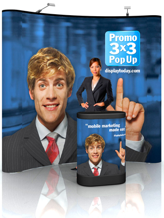 Promo 3x3 PopUp Display System